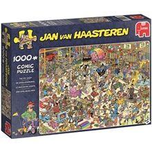 Jan Van Haasteren Puslespill 1000 Deler The Toy Shop
