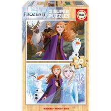 Educa Frozen 2 Puslespill  2 x 50 Biter Tre