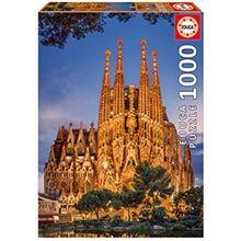 Educa Puslespill 1000 Deler Sagrada Familia