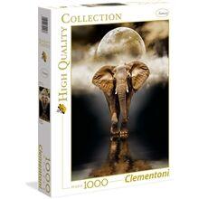 Clementoni Puslespill 1000 deler The Elephant