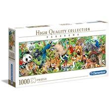 Clementoni Puslespill 1000 deler Panorama Wildlife