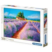 Clementoni Puslespill 500 deler Lavender Scent