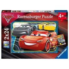 Ravensburger Puslespill Cars 3 2x24