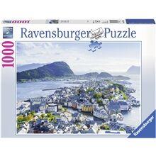 Ravensburger Puslespill 1000 Deler Ålesund in Norwegen