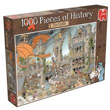 Jumbo Puslespill 1000 Biter Pieces of History The Castle