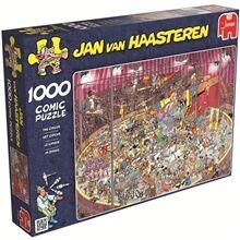 Jan Van Haasteren Puslespill 1000 Biter - The Circus