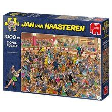 Jan Van Haasteren Puslespill 1000 Biter - Ballroom Dancing