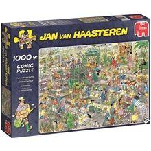 Jan Van Haasteren Puslespill 1000 deler - Garden Center