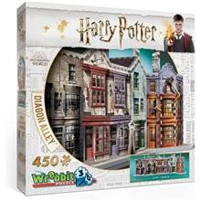 Wrebbit 3D Puslespill Harry Potter Diagon Alley