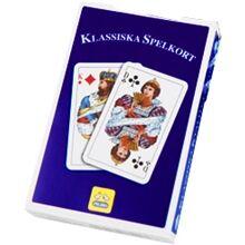 Peliko Svensk Klassisk Kortstokk Blå