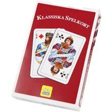 Peliko Svensk Klassisk Kortstokk Rød