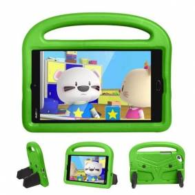 24hshop Beskyttelsedeksel med stativ til Huawei MediaPad M3 8 for barn Grønn
