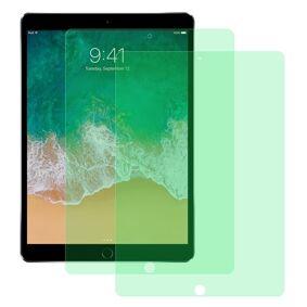 24hshop 2-pk Temperert skjermbeskyttelse med blålysfilter til iPad Pro 10.5