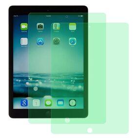 24hshop 2-pk Temperert skjermbeskyttelse med blålysfilter til iPad 9.7 (2018)