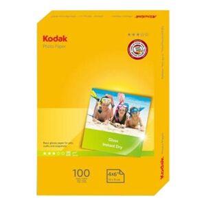 24hshop Kodak 180 GSM fotopapir, A6, 100-pack