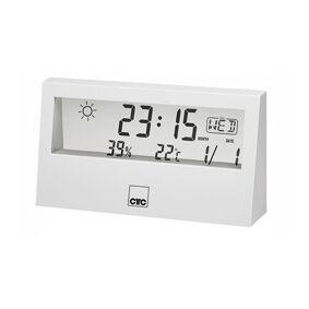 24hshop CTC WSU 7022 Værstasjon med klokke