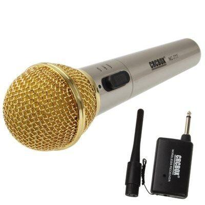 24hshop Trådløs Mikrofon 15-30 m