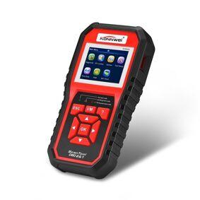 24hshop KW850 OBDII / CAN Bildiagnostikk + Batteri og Volt