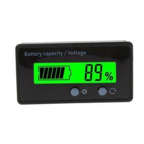 24hshop Lithium Batterikapasitets tester / Voltmåler