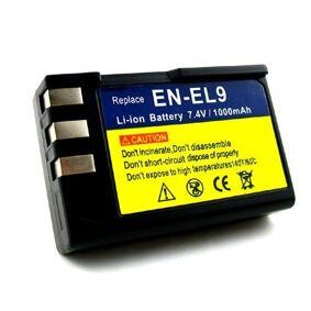 24hshop Batteri EN-EL9 til Nikon D40 & D40X