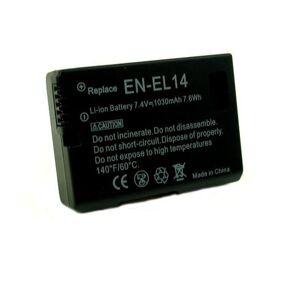 24hshop Batteri til Nikon EN-EL14 / EN -EL14A