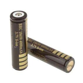 24hshop Oppladbart batteri 18650 4000mAh