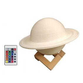 24hshop LED-lampe Saturnus med RGB-farger