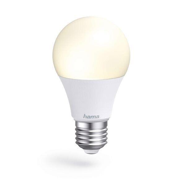 24hshop HAMA WiFi LED-pære E27 Hvit 10W