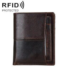 24hshop Herr Lommebok RFID Oil Wax med avtagbar kortholder