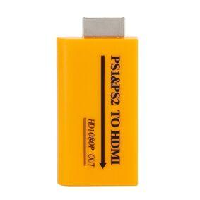 24hshop Adapter for PS1/PS2 til HDMI