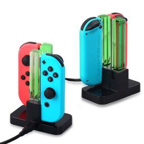 24hshop Eaxus ladestasjon for Nintendo Switch Joy Con