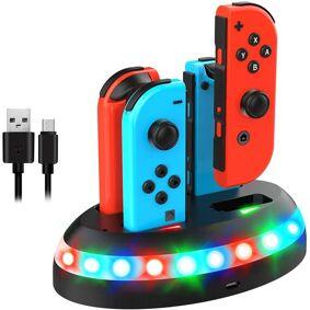 24hshop Ladestasjon til Nintendo Switch Joy-Con