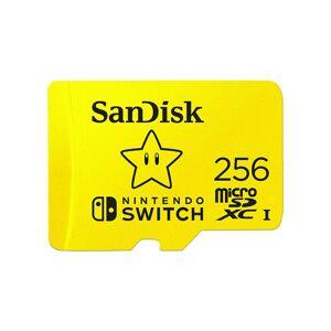 24hshop SanDisk 256GB microSDXC UHS-I Nintendo-Switch