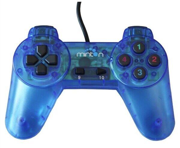 24hshop PC USB Gamepad MGC-360 - Blå