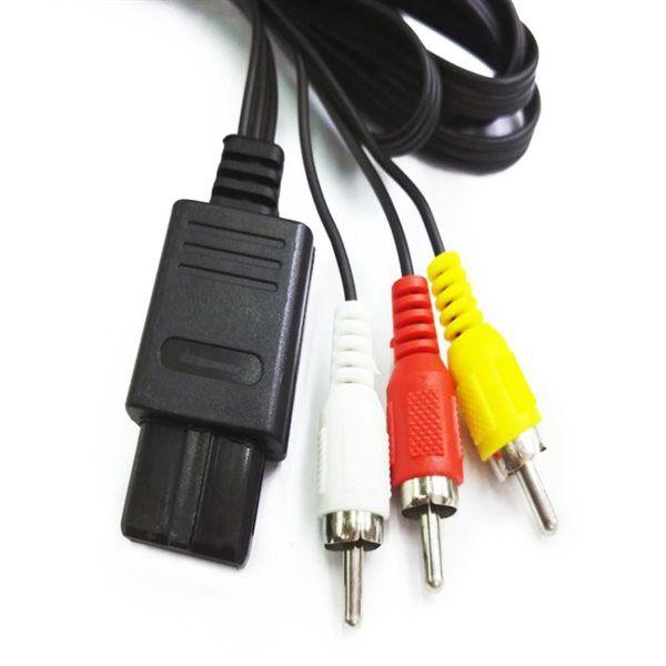 24hshop Videokabel / Av-kabel Nintendo N64 / NGC