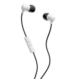24hshop SKULLCANDY Hodetelefoner In-Ear JIB Mic Mic Hvit/Svart