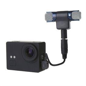 24hshop Ekstern Mini mikrofon til GoPro HERO