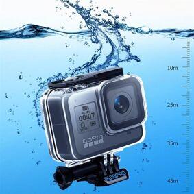 24hshop Beskyttelsesdeksel til GoPro HERO8 - Vanntett til 45m