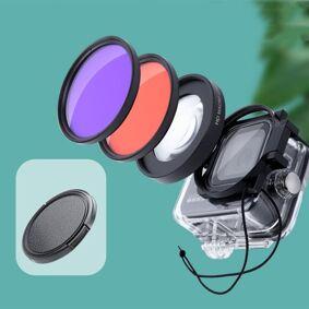 24hshop Filterkit Dykking Macrolinser GoPro HERO8 Professional 58mm 16X