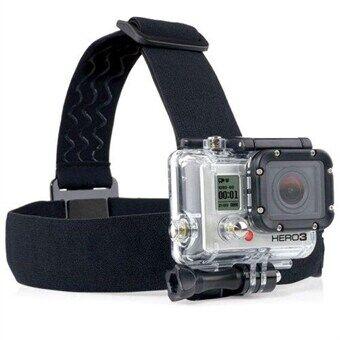 Elastisk justerbart hovedfeste GoPro Kamera