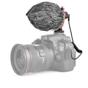 24hshop Shotgun-mikrofon med 3.5mm for videoinnspilling