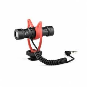24hshop Toveis-mikrofon med AUX-kabel for intervjuer