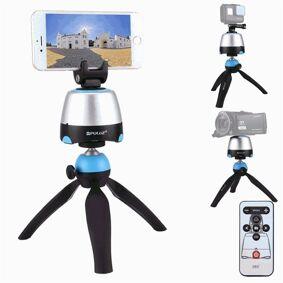 24hshop Kamerastativ 360 grader Panorama 3D rotering Kamera / Mobil / Gopro