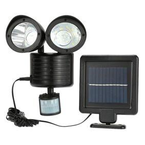 24hshop Solcellebelysning Dual Spotlight 6W