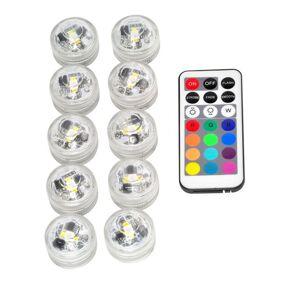 24hshop 12 i 1 RGB LED-lamper med fjernkontroll