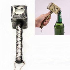 24hshop Magnetisk Ølåpner Tors Hammer