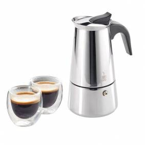 24hshop Gefu Espressomaskin & 2 kopper