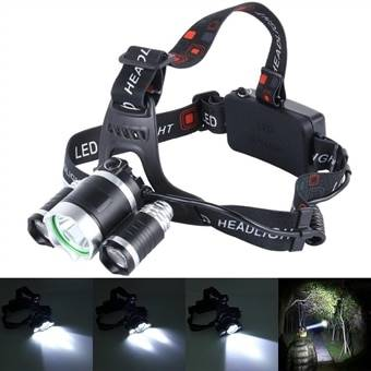 LED Pannelampe High Power 3 CREE T6 + lader