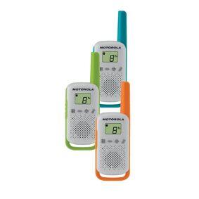 Motorola Talkabout T42 Walkie Talkie - 3-Pack