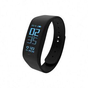 24hshop Smartwatch Touchscreen Pulsmåler - SMS / Bluetooth / Trinn / Tid / Klokke / IP67